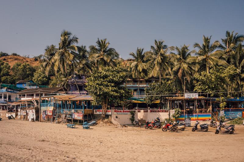 Arambol Beach Goa Indien