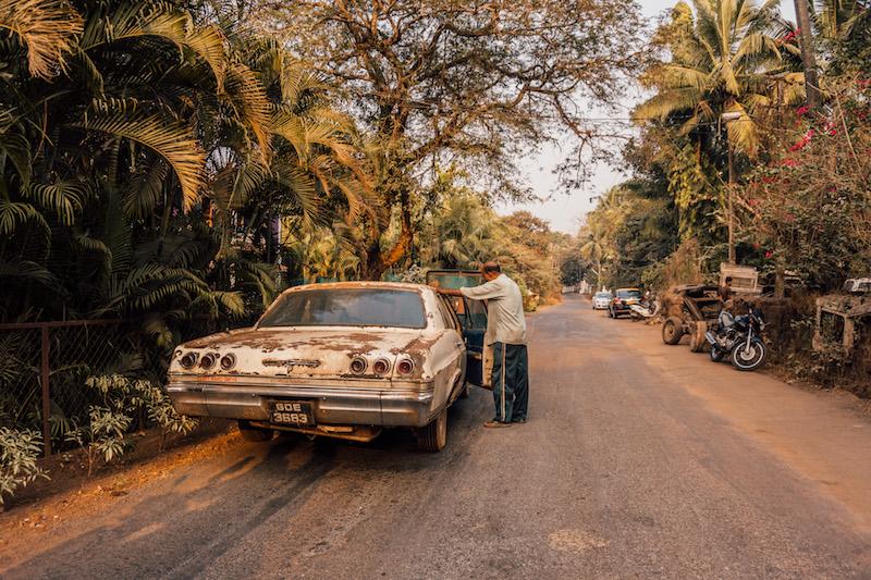 Arambol Goa Indien