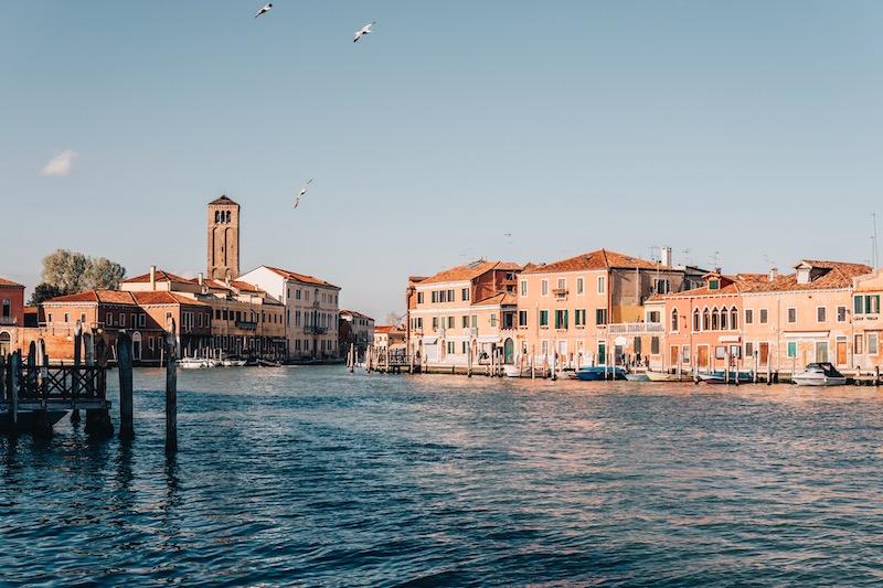 Burano Murano Venedig Lagune