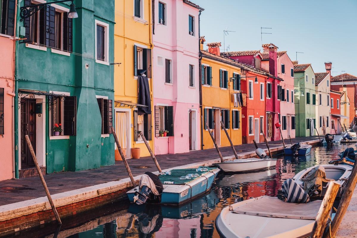 Burano Murano Venedig
