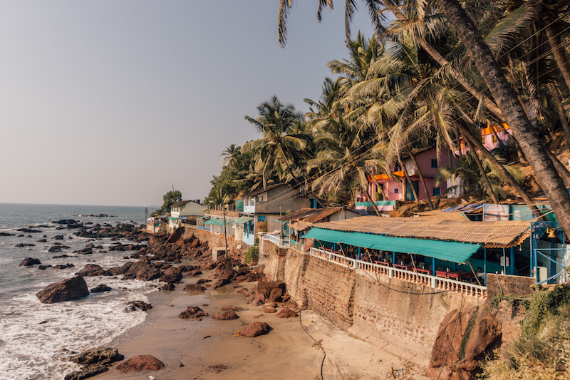 Goa Arambol Beach Indien