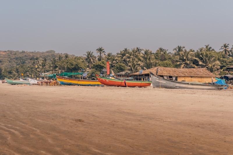 Goa Indien Arambol Beach