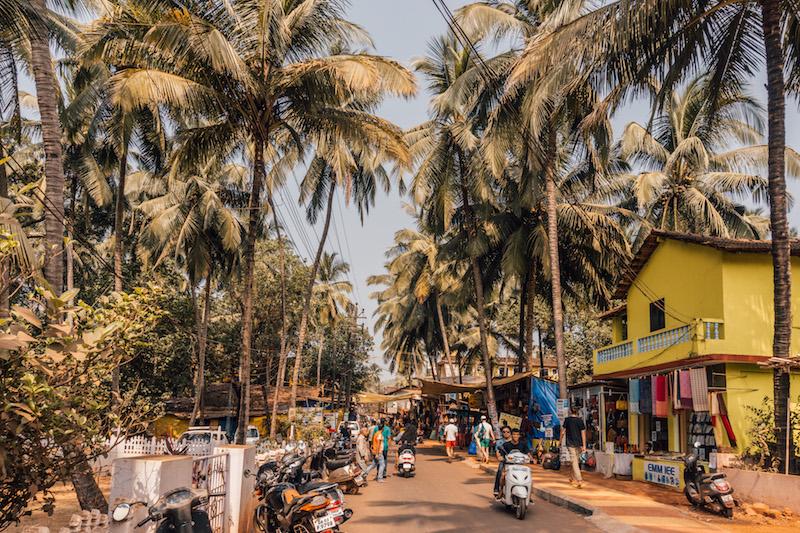 Goa Indien Arambol
