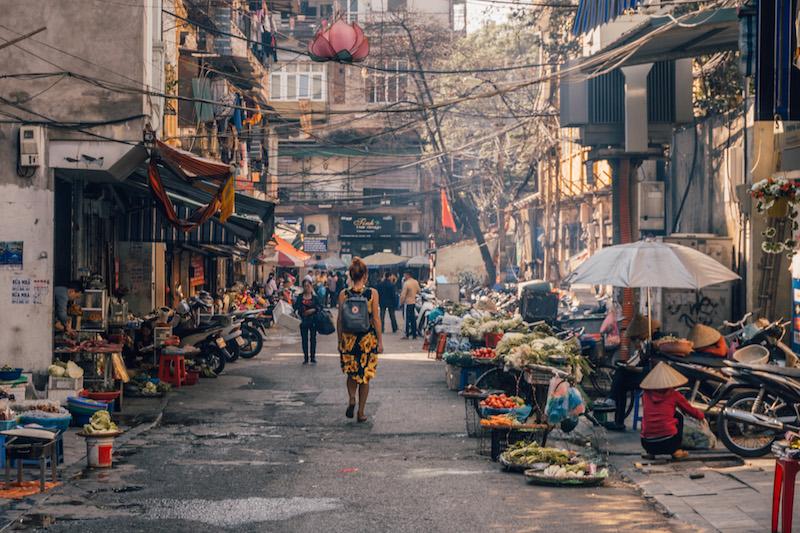 Vietnam Rundreise Hanoi