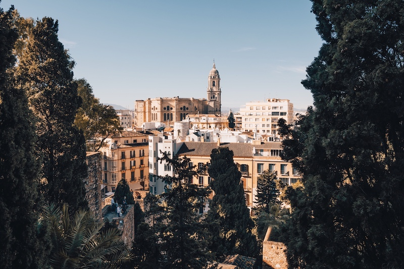 Malaga Sehenswuerdigkeiten Alcazaba