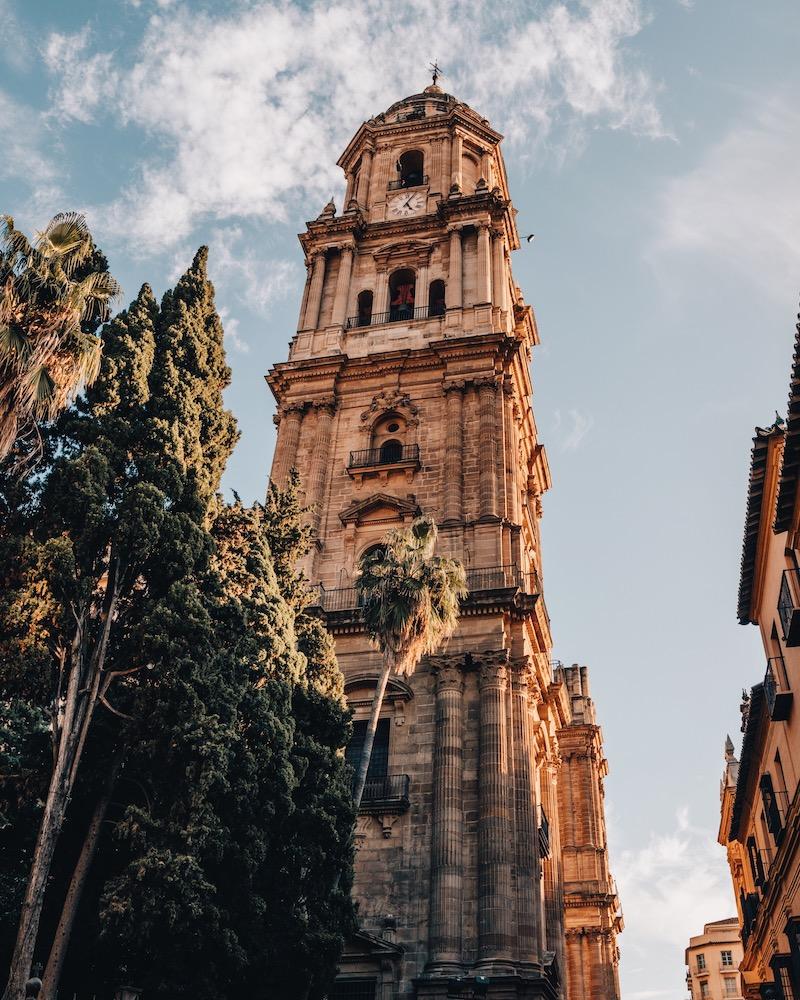 Malaga Sehenswuerdigkeiten Kathedrale
