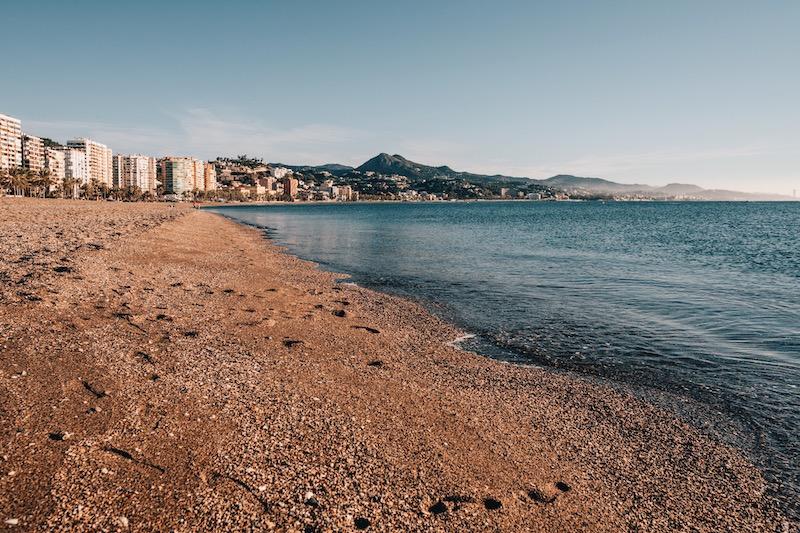 Malaga Sehenswuerdigkeiten Strand Malagueta