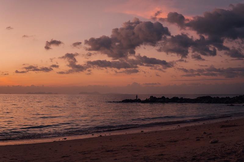 Koh Lanta Sonnenuntergang
