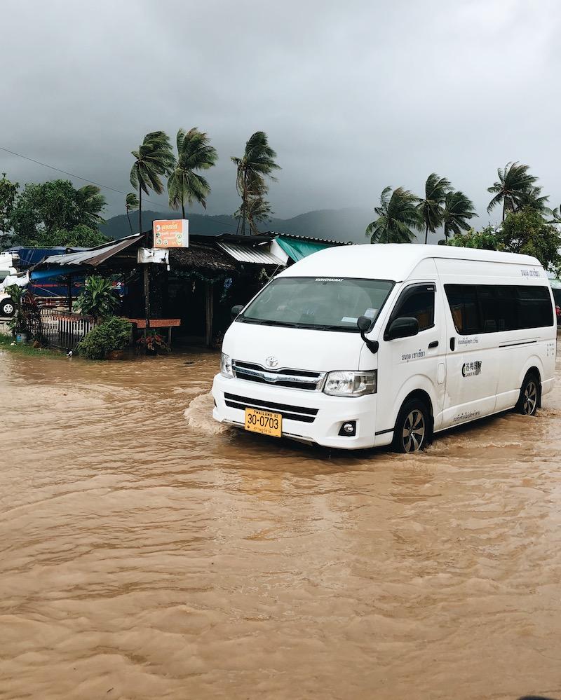 Tropensturm Pabuk Thailand Koh Samui