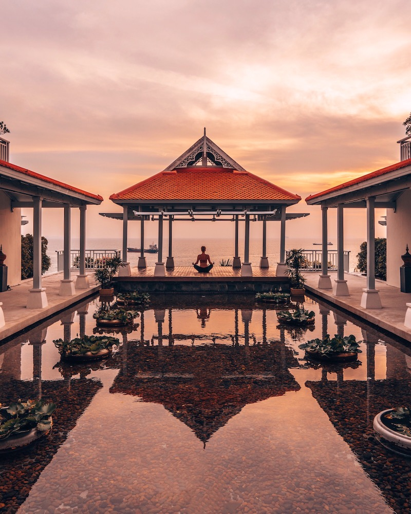 Amatara Wellness Resort Yoga