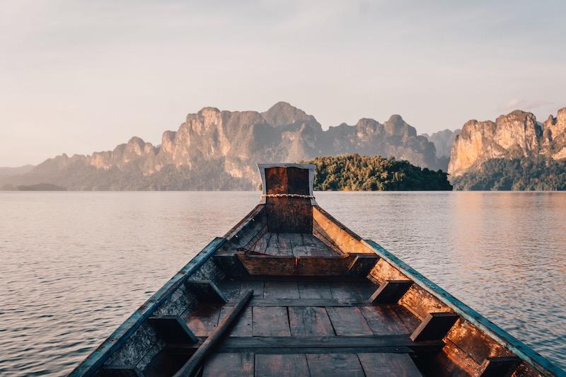 Khao Sok Nationalpark Longtailboot