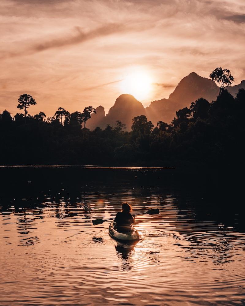 Khao Sok Nationalpark Kajak