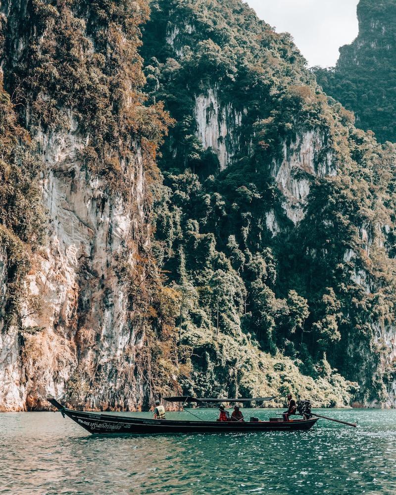 Khao Sok Nationalpark Kalksteinfelsen
