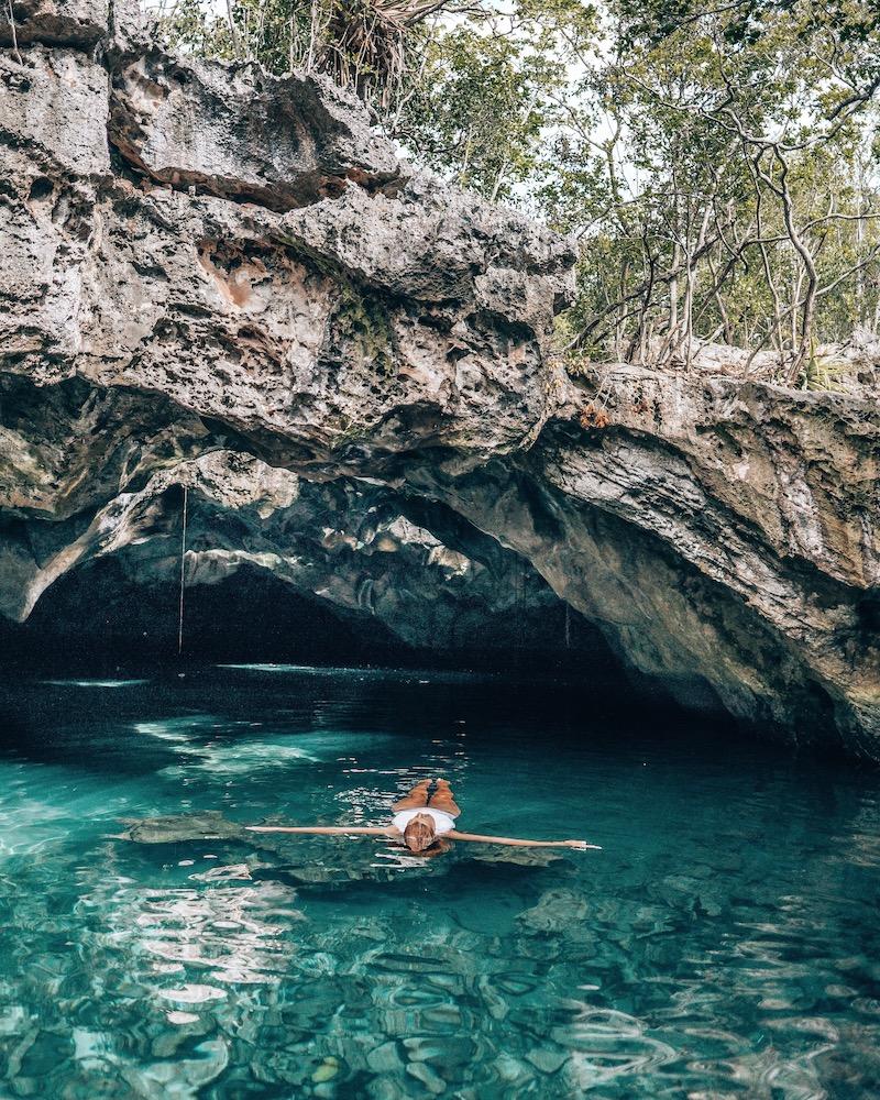 Long Island Bahamas Cenote
