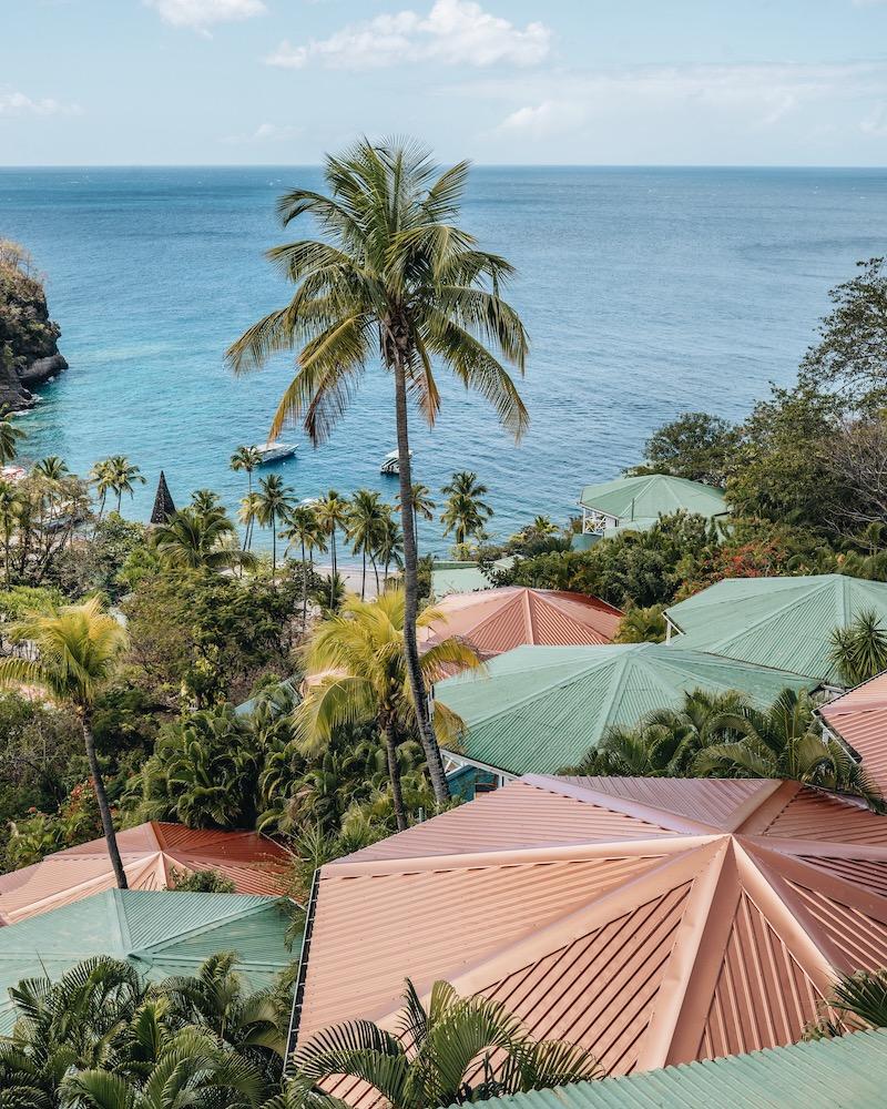 Saint Lucia Unterkuenfte Anse Chastanet Hotel