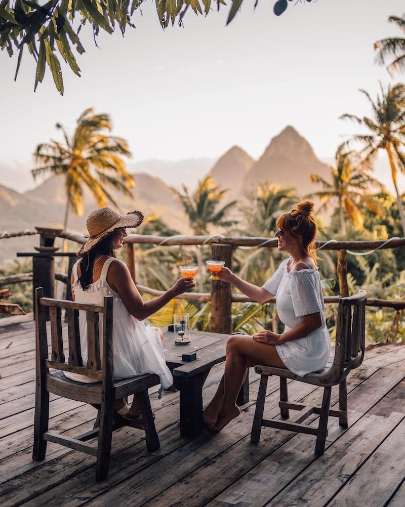 Saint Lucia Unterkuenfte Crystals Villa Hotel