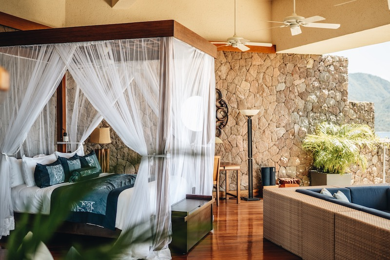 Saint Lucia Unterkuenfte Jade Mountain Resort