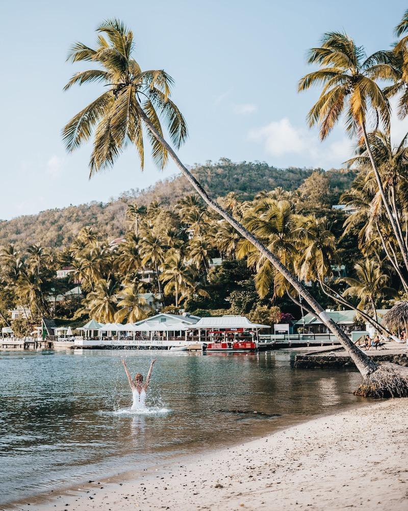 Saint Lucia Unterkuenfte Marigot Bay