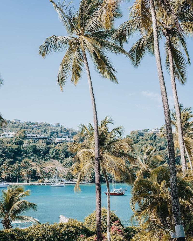 Saint Lucia Unterkuenfte Marigot Beach Club