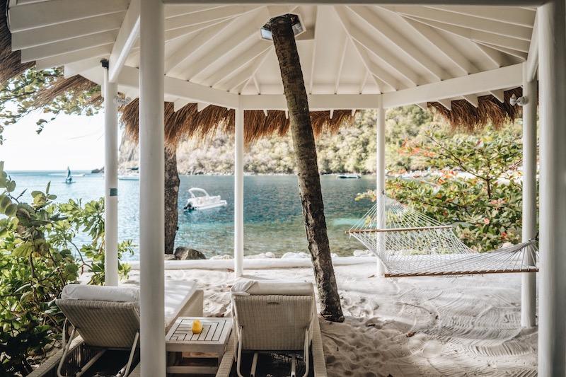 Saint Lucia Unterkuenfte Sugar Beach