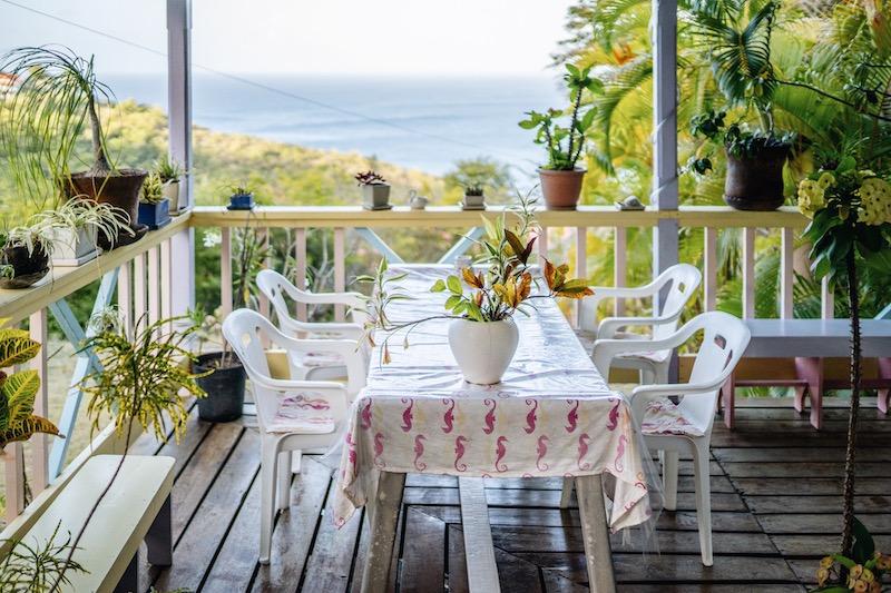 Saint Lucia Unterkuenfte Villa Caribbean Dream