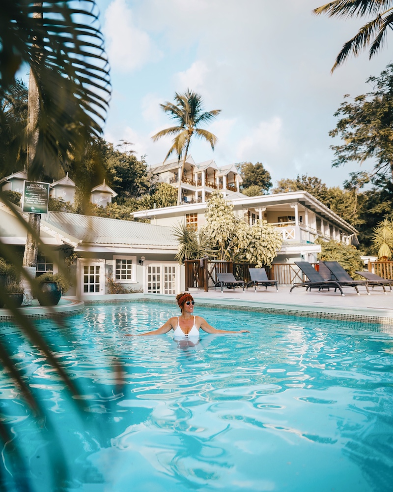 Unterkuenfte Saint Lucia Marigot Beach Club