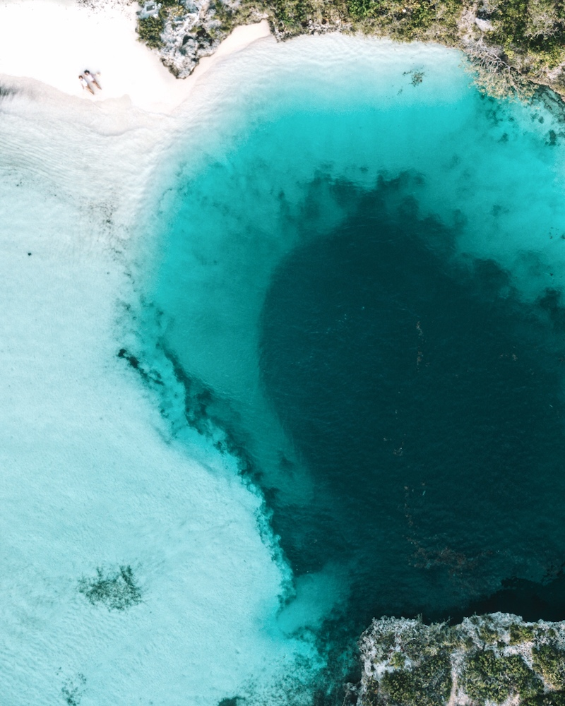 Long Island Bahamas Deans Blue Hole