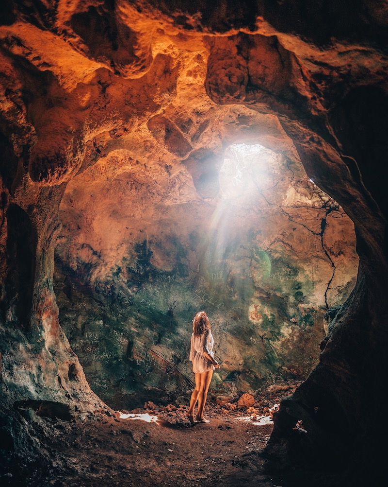 Long Island Bahamas Hamiltons Cave