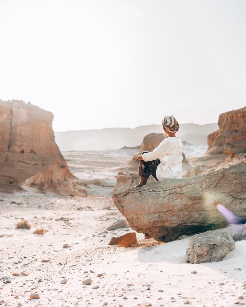 Wüstenreise Schweigen Wüste Sinai