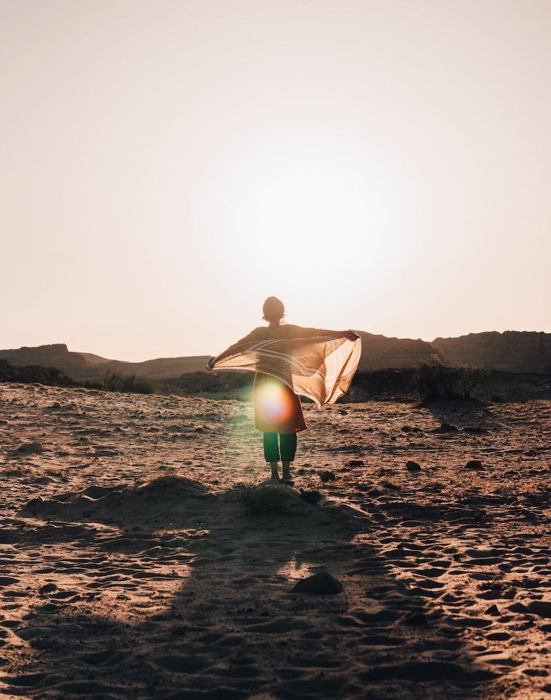 Wüstenreise Sonnenaufgang Wüste Sinai