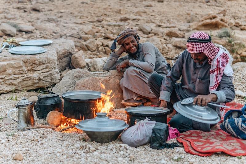 Beduinen Wüste