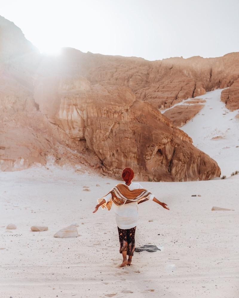 Kleidung in der Wüste