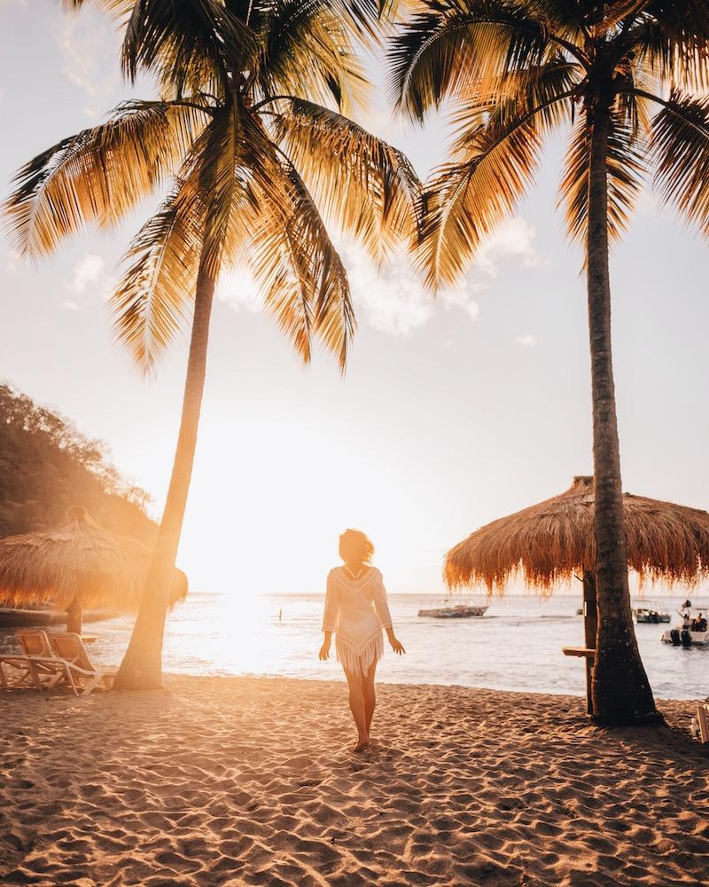 Saint Lucia Anse Chastanet Beach