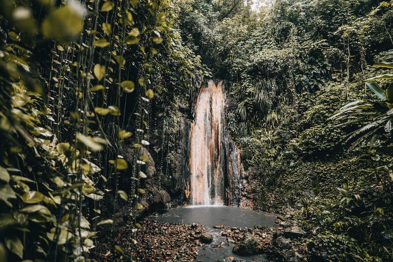 Saint Lucia Diamond Falls