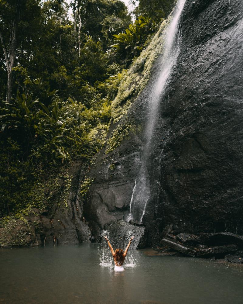 Saint Lucia Errand Wasserfall