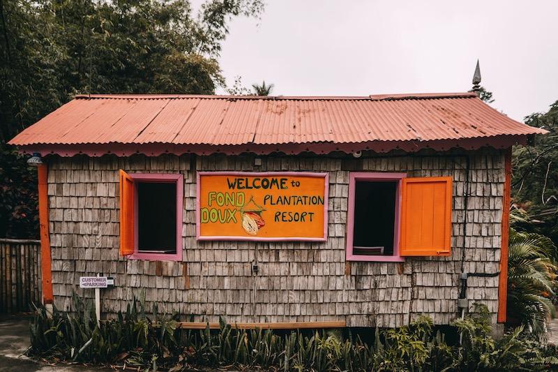 Saint Lucia Fond Doux Plantation
