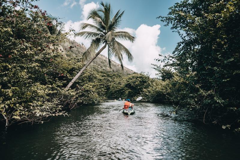 Saint Lucia Kajak