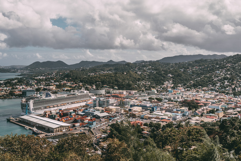 Saint Lucia Kreuzfahrtschiff Castries