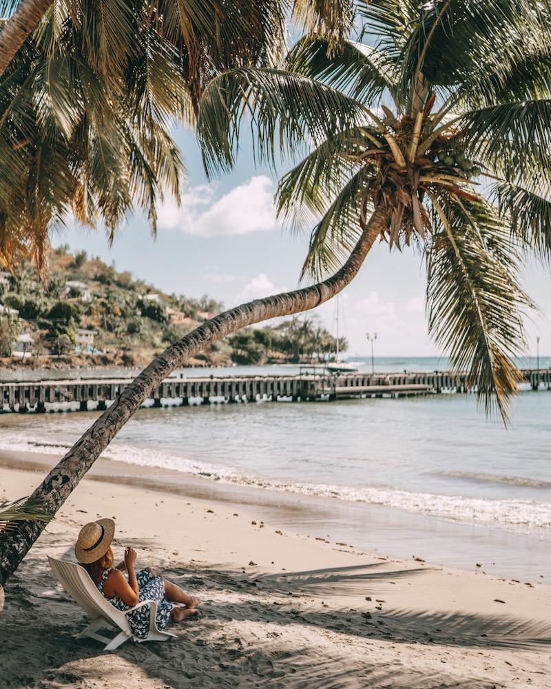 Saint Lucia Laborie Strand
