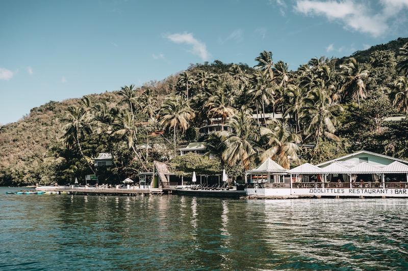 Saint Lucia Marigot Bay Doolittle