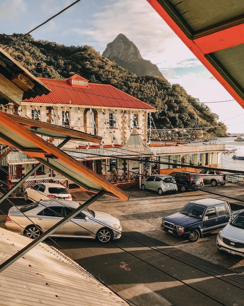Saint Lucia Petit Peak Restaurant Soufriere
