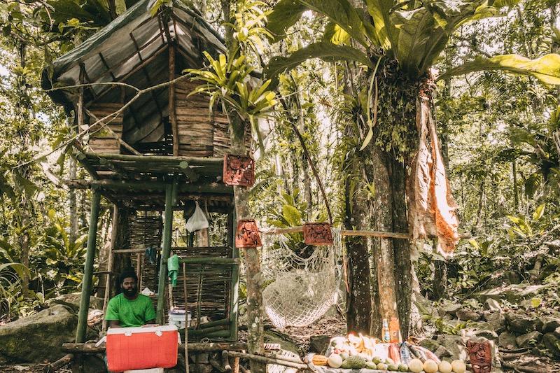 Saint Lucia Piton Wanderung