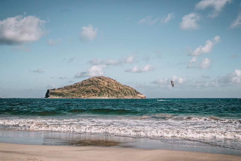 Saint Lucia Sandy Beach