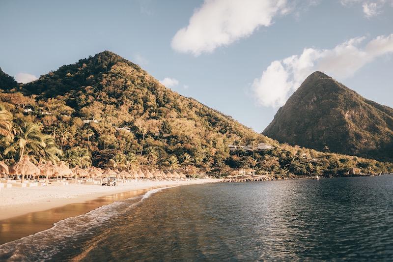 Saint Lucia Sugar Beach