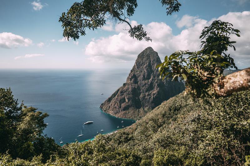 Saint Lucia Tet Paul Piton
