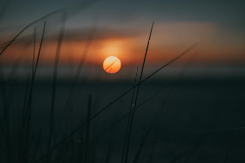 Usedom Ostsee Urlaub Sonnenaufgang