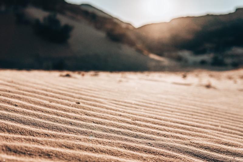 Wüste Wüstensand