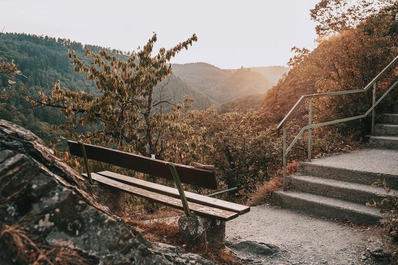 Cochem Pinner Kreuz Sonnenuntergang