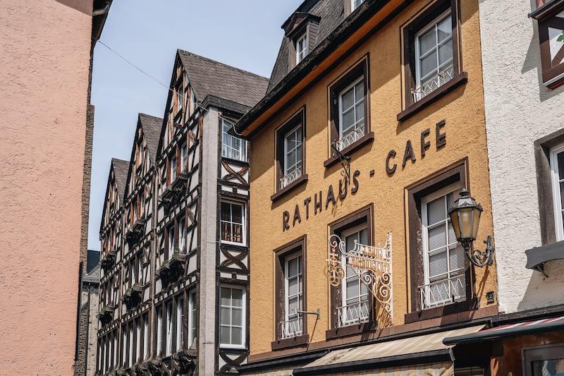 Cochem Rathaus Cafe