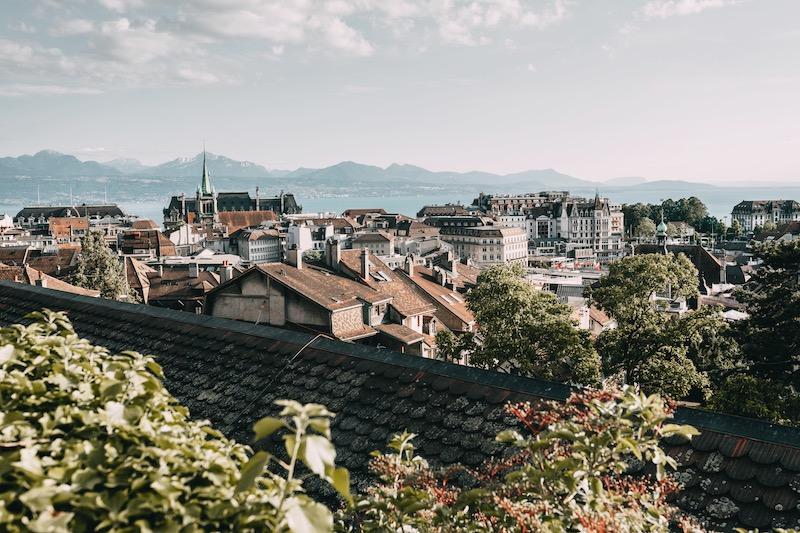 Lausanne Ausblick